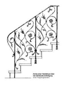 Treppenskizze